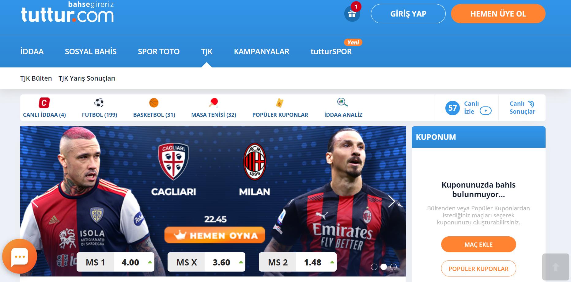 Tuttur.com Para Yatırma İşlemi Nasıldır?
